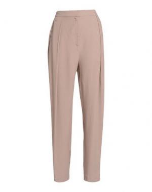 Повседневные брюки BY MALENE BIRGER. Цвет: светло-коричневый