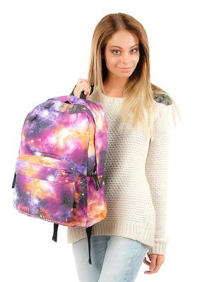 Рюкзак GREZZO. Цвет: фиолетовый