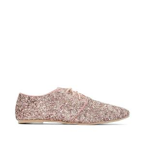 Ботинки-дерби с блестками MADEMOISELLE R. Цвет: розовый,синий морской