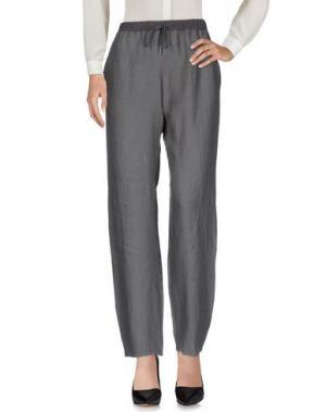 Повседневные брюки ROSSOPURO. Цвет: свинцово-серый