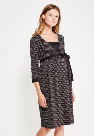 Платье 40 недель. Цвет: черный