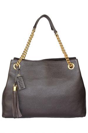 Bag Poon. Цвет: dark brown