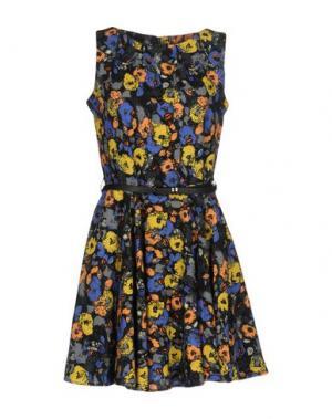 Короткое платье CUTIE. Цвет: синий