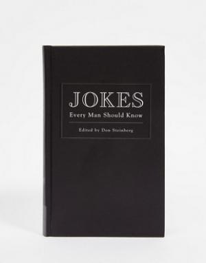Books Книга Jokes Every Man Should Know Book. Цвет: мульти