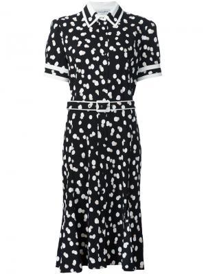 Платье миди Ella Altuzarra. Цвет: чёрный