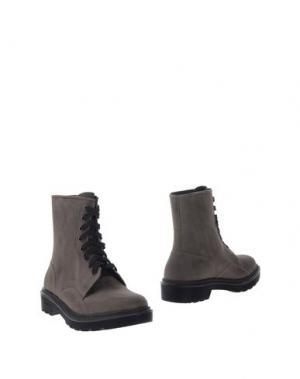 Полусапоги и высокие ботинки LIVIANA CONTI. Цвет: свинцово-серый