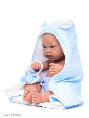 Кукла Игнасио Antonio Juan. Цвет: голубой, бежевый