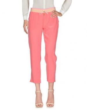 Повседневные брюки CAPRI. Цвет: лососево-розовый