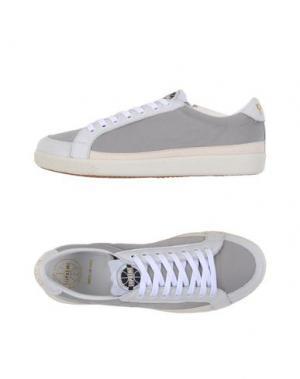Низкие кеды и кроссовки PANTOFOLA D'ORO. Цвет: светло-серый