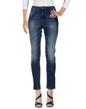 Джинсовые брюки BOSS ORANGE. Цвет: синий