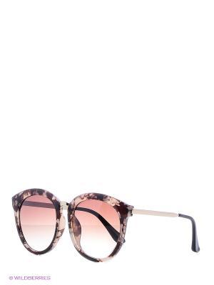 Очки солнцезащитные Mitya Veselkov. Цвет: коричневый, белый