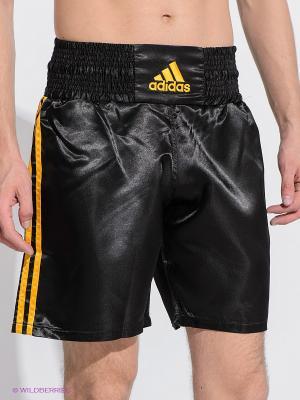 Шорты Multi Boxing Shorts Adidas. Цвет: черный, желтый
