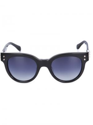 Солнцезащитные очки Kelly Sama Eyewear. Цвет: чёрный