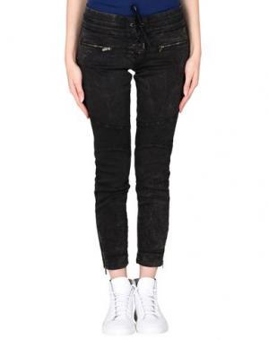 Повседневные брюки THE KOOPLES SPORT. Цвет: черный