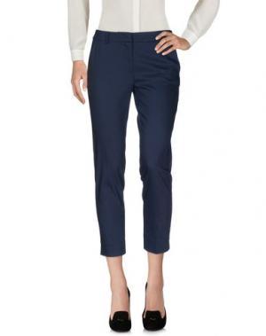 Повседневные брюки JUST FOR YOU. Цвет: темно-синий