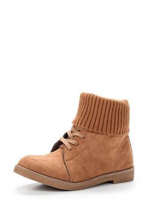 Ботинки Sweet Shoes. Цвет: коричневый