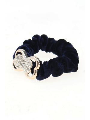 Резинка для волос Olere. Цвет: синий,золотистый