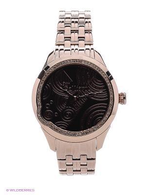 Часы наручные Galliano. Цвет: желтый