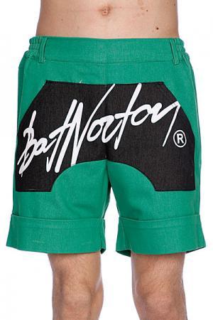 Шорты  Unisex Basic Shorts Green Bat Norton. Цвет: зеленый,черный