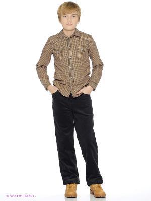 Рубашка Милашка Сьюзи. Цвет: коричневый