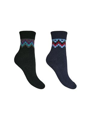 Носки, 2 пары Master Socks. Цвет: темно-синий, черный