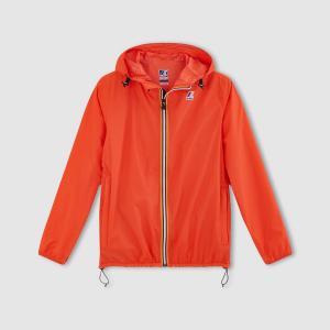 Ветровка с капюшоном Unisexe LE VRAI CLAUDE 3.0 KWAY. Цвет: оранжевый