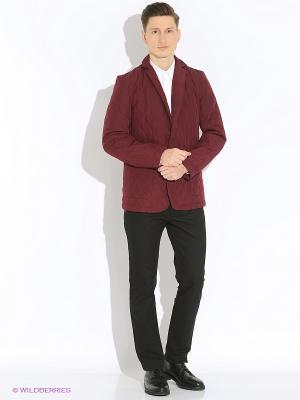 Куртка the Kravets. Цвет: бордовый