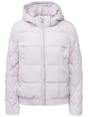 Куртка Finn Flare. Цвет: сиреневый