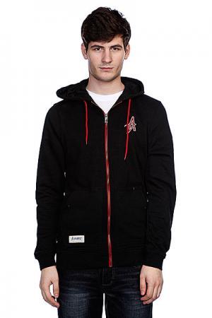 Толстовка  Broyo Zip Hood Black Altamont. Цвет: черный
