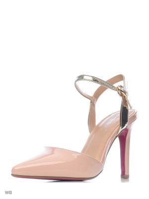 Туфли VIVIAN ROYAL. Цвет: розовый, золотистый