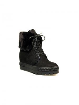 Ботинки женские Avenir PREMIUM. Цвет: черный