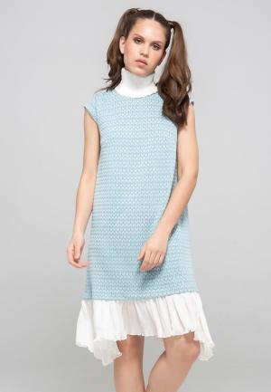Платье YuliaSway Yulia'Sway. Цвет: голубой