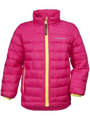 Куртка UMLALI DIDRIKSONS. Цвет: розовый