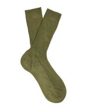 Короткие носки PARIS TEXAS. Цвет: зеленый-милитари