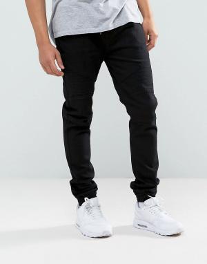 Loyalty & Faith Черные джинсы в спортивном стиле and Garrett. Цвет: черный