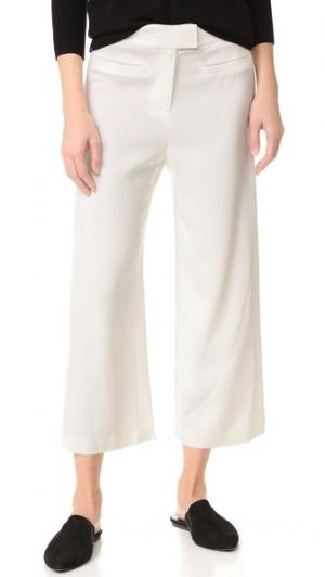 Укороченные широкие брюки Lee Veronica Beard. Цвет: белый
