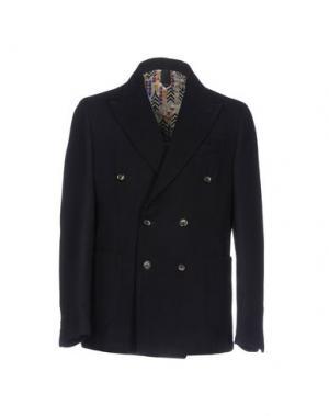 Пальто BASICON. Цвет: темно-синий