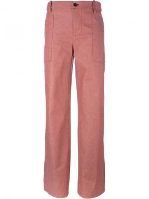 Широкие брюки Société Anonyme. Цвет: красный