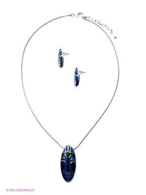 Комплект Fiore Lune. Цвет: синий, зеленый, фиолетовый