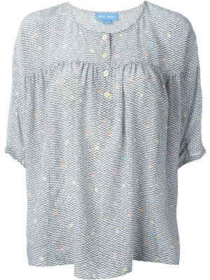 Блузка Zodiac Mih Jeans. Цвет: многоцветный