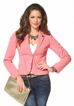 Жакет MELROSE. Цвет: коралловый, красный, розовый, черный, ярко-розовый
