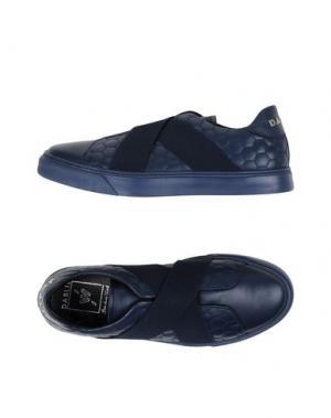 Низкие кеды и кроссовки W DABLIU. Цвет: темно-синий