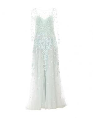 Длинное платье ZUHAIR MURAD. Цвет: светло-зеленый