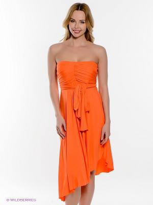 Платье PENYE MOOD. Цвет: оранжевый