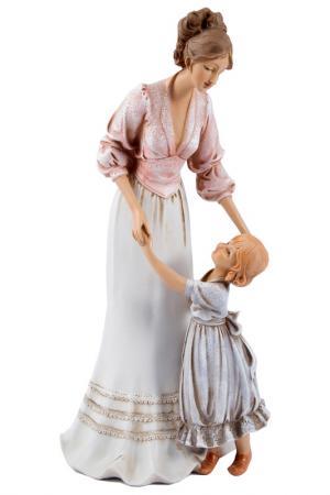 Статуэтка Мисс Прелестность Русские подарки. Цвет: белый, розовый