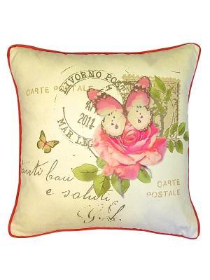 Декоративная наволочка Легкая жизнь Apolena. Цвет: розовый