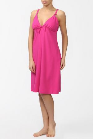 Пляжное платье Cotton Club Mare. Цвет: фуксия