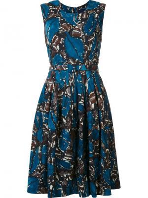 Платье Rachel Samantha Sung. Цвет: синий