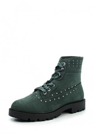 Ботинки Piazza Italia. Цвет: зеленый