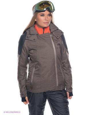 Куртка BRUNOTTI. Цвет: коричневый